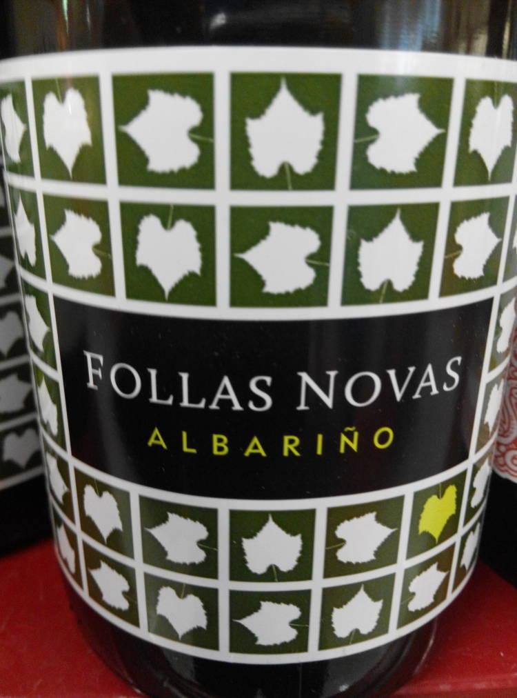 Follas Novas Albariño 2012 Paco & Lola 1