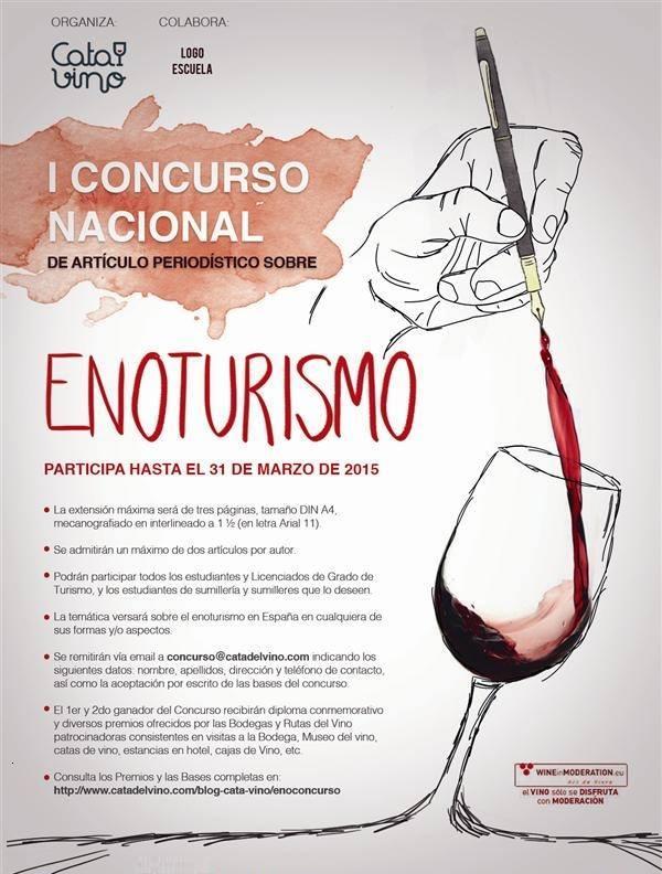 I Concurso Nacional de artículos periodísticos sobre enoturismo 1