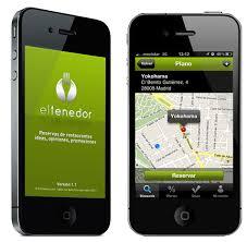 Según eltenedor.es el 40% reservamos restaurante por el smartphone 1
