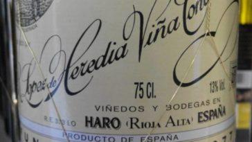 Catamos Viña Tondonia Reserva 2002, otro de los vinos recomendado en UK esta semana 2