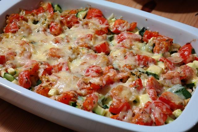Casserole de verduras, atún y queso 1