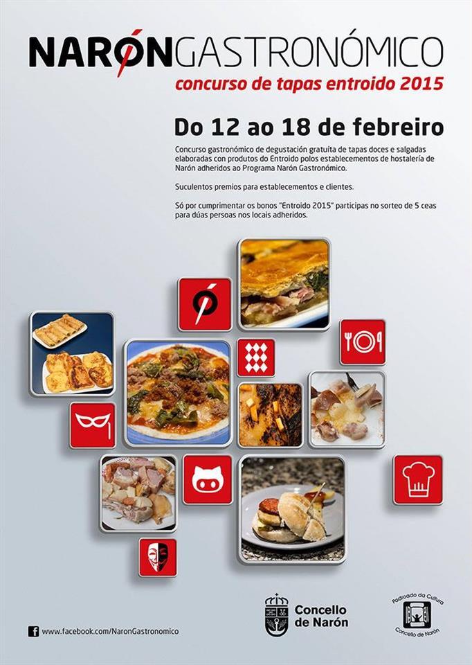 Ruta de Tapas Narón Gastronómico Entroido 2015 1
