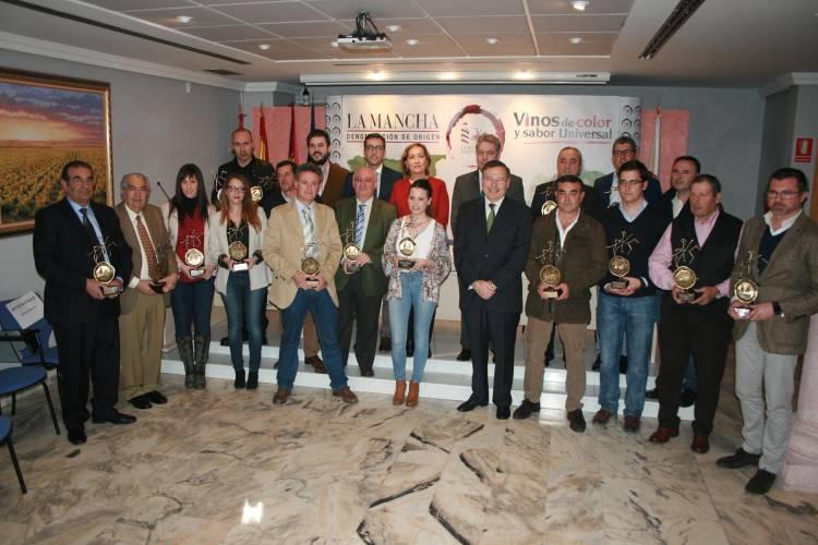 Vinos premiados en la XXVIII edición de los Premios Vinos con Denominación de Origen de La Mancha 1