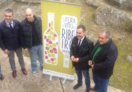 Presentación de la 52º edición de la Feira do Viño do Ribeiro 2