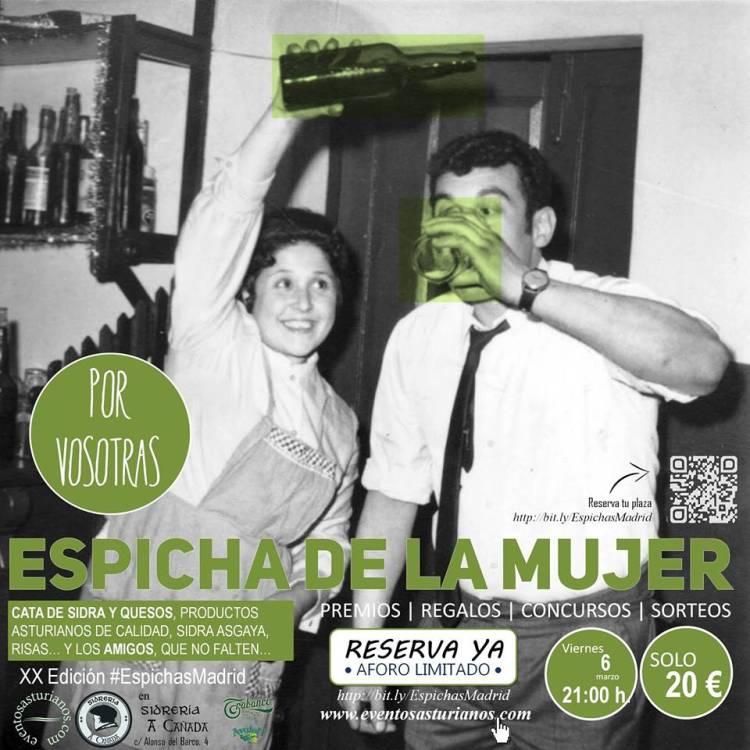 Las espichas asturianas arrasan en Madrid 1