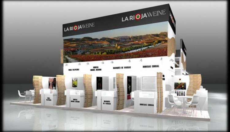 Los vinos de La Rioja cuadriplican su espacio presencial en ProWein 2015 1