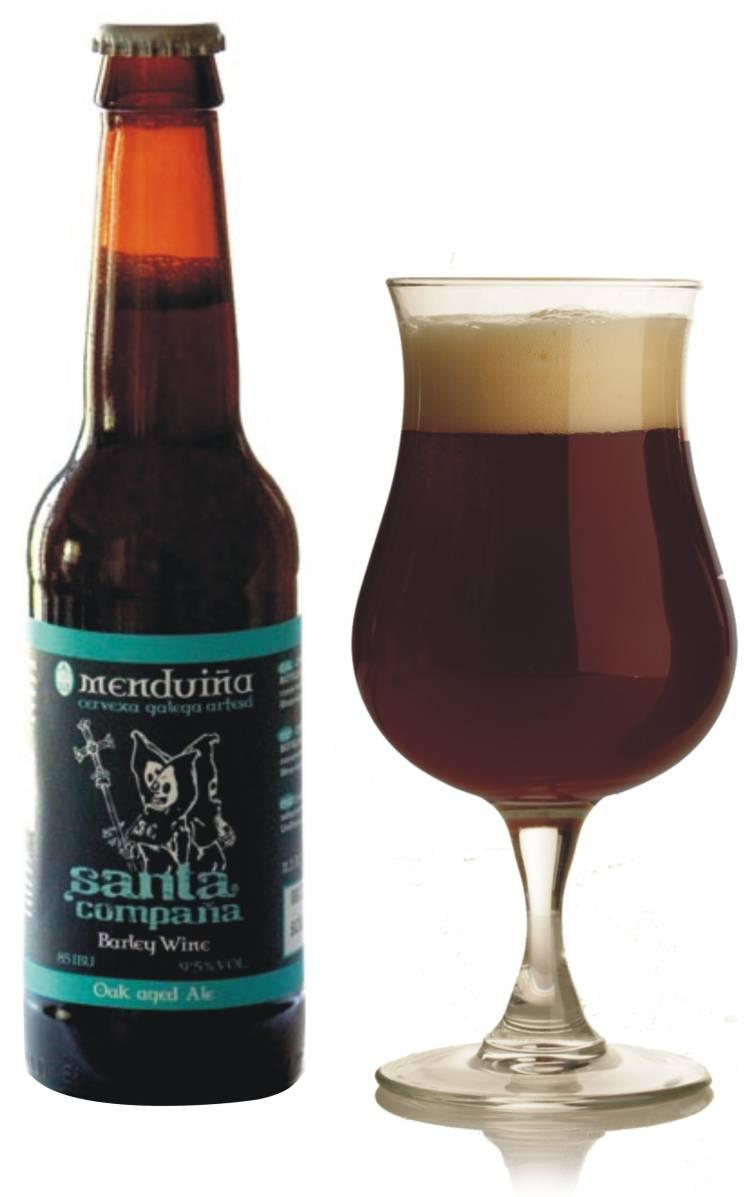 Menduiña consigue Medalla de Plata para su Santa Compaña en el prestigioso certamen cervecero internacional de Dublín 1