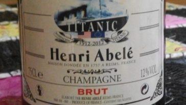 Henri Abelé Brut Traditionnel 'Edición TITANIC' 2