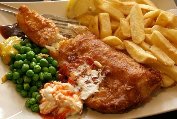 Fish and chips a la española 1
