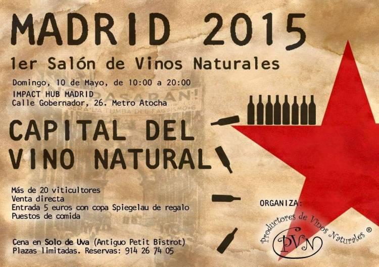 Madrid se convertirá el mes que viene en la capital del 'vino natural' 1