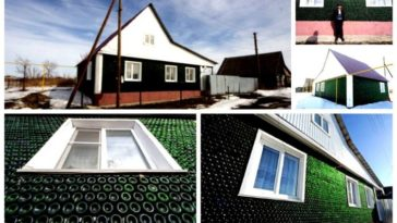 Se construye una casa con 12.000 botellas de champagne 6