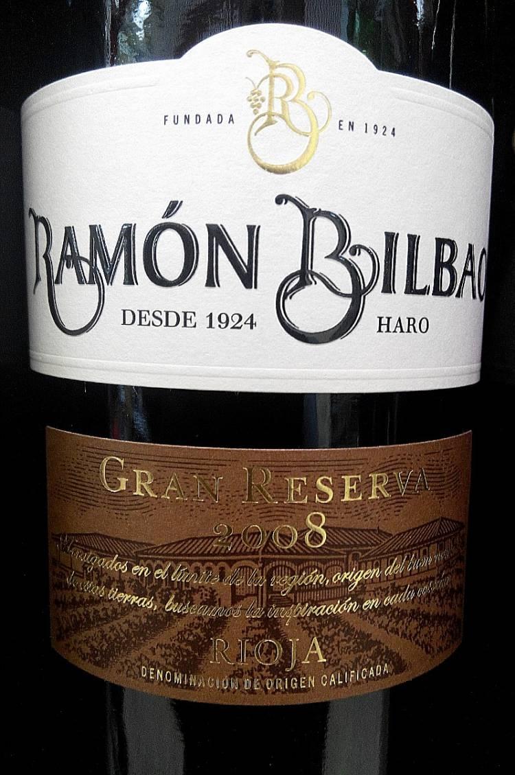 Ramón Bilbao Gran Reserva 2008 1
