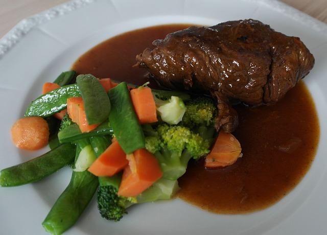 Roulade de carne con verduras 1