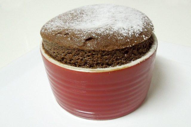 Soufflé de chocolate 2