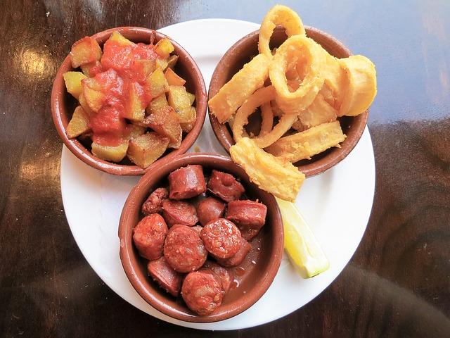 Tres tapas españolas para una cena 1