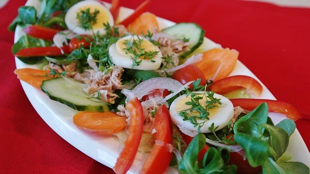 Ensalada de atún y verduras a 'mi manera' 1