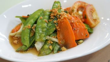 Ensalada fría de verduras de verano 1