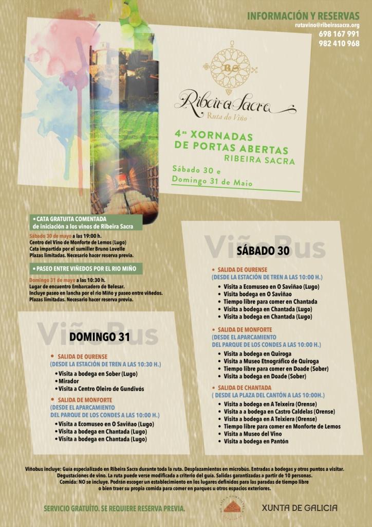 Jornadas de 'puertas abiertas' en las bodegas de la Ribeira Sacra 1