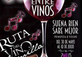 Música Entre Vinos 2015 de la Ruta del Vino de Jumilla 1