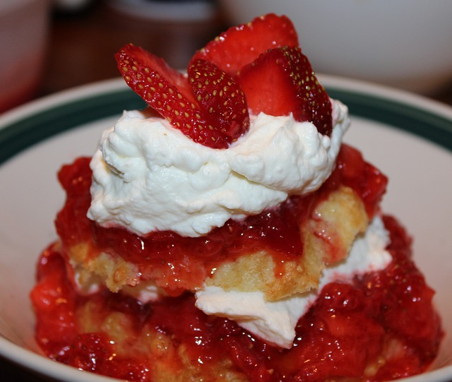 Shortcake de fresas 1