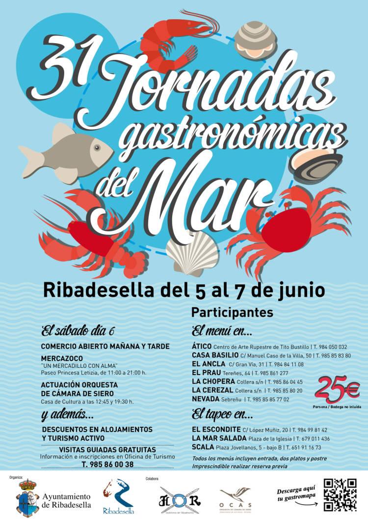 XXXI Jornadas Gastronómicas del Mar de Ribadesella 1