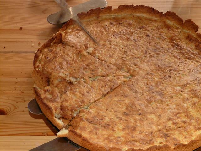 Zwiebelkuchen o tarta de cebollas 3