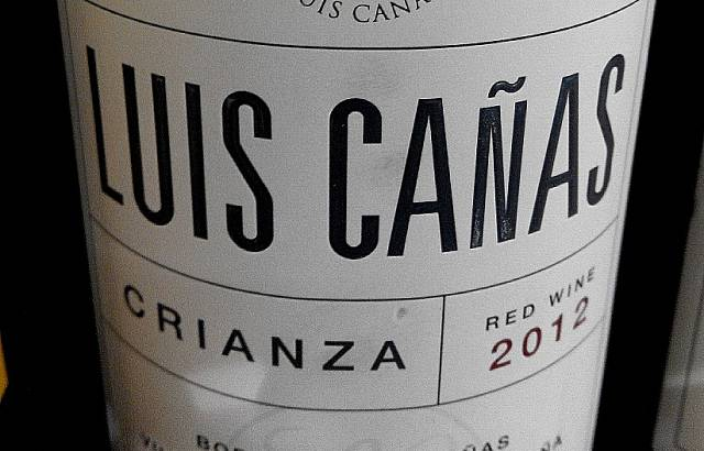 Luis Cañas Crianza 2012 2