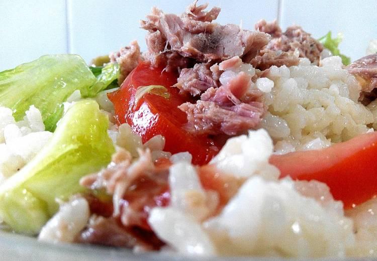 Ensalada de arroz y atún 1