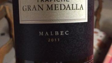 Trapiche Gran Medalla Malbec 2011 1