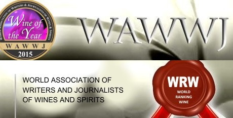 Los mejores vinos del mundo del año 2015 para la WAWWJ, World Association of Writers and Journalist of Wines and Spirits 1