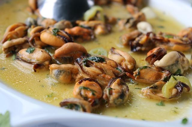 Mejillones en salsa de albariño 1