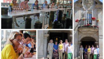 6 miembros de la Guía Repsol catarán entre hoy y mañana alrededor de 120 marcas de vino de la DO Rías Baixas 5