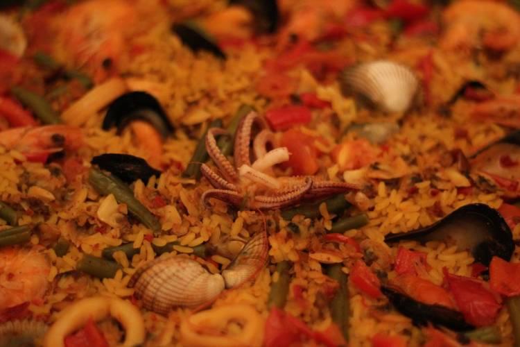 Receta paella de marisco 2