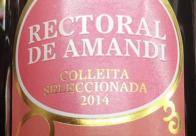 Rectoral de Amandi Colleita Seleccionada 2014 3