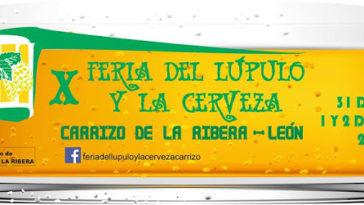 X Feria del Lúpulo y la Cerveza en Carrizo de la Ribera 1