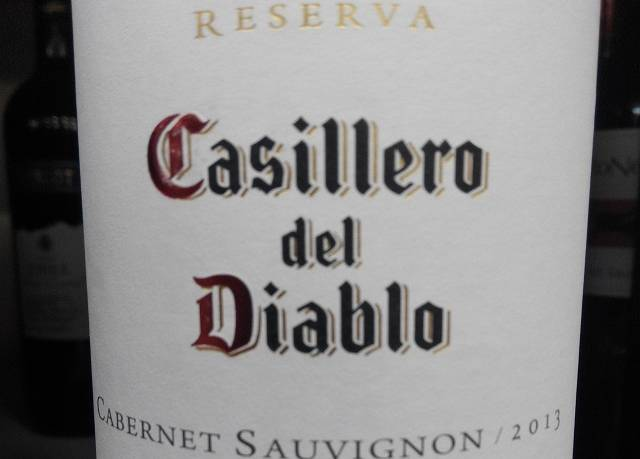Casillero del Diablo Reserva 2013 2