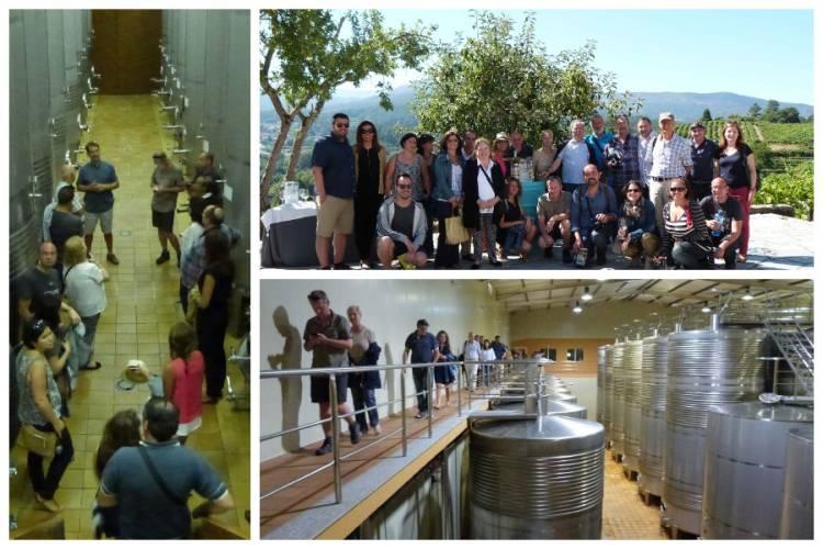 La semana que viene serán los dos últimos recorridos de los Buses del Vino de la Ruta do Viño Rías Baixas 2