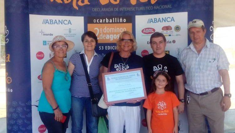 Premiado en la Festa do Pulpo de Carballiño el restaurante con el mejor Pulpo A Feira de Madrid 1