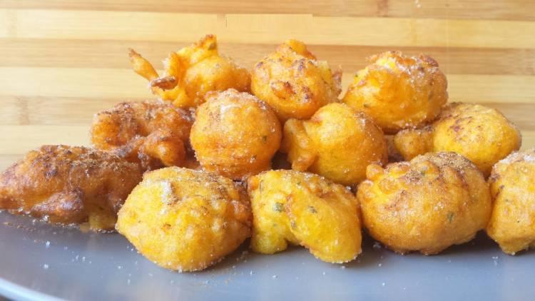 Buñuelos dulces de calabaza 3