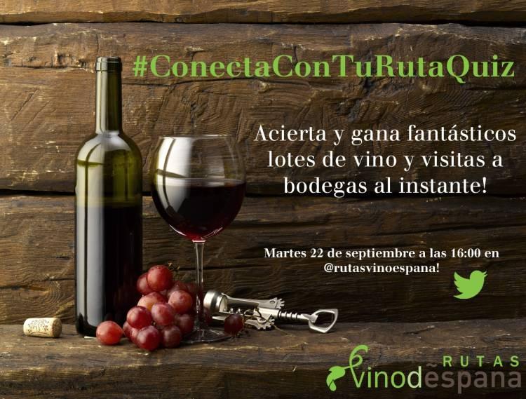 La Ruta do Viño Rías Baixas participa en el concurso de Rutas del Vino de España #ConectaConTuRutaQuiz 1