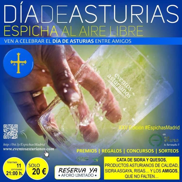 Madrid celebra el 'Día de Asturias' con una 'espicha' al aire libre 1