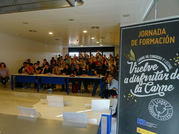 Éxito de participación y gran acogida a la nueva imagen de Cordero y Lechal en Alicante 1