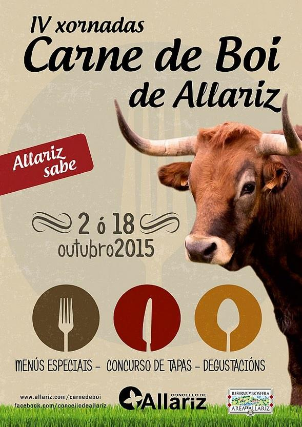 IV Jornadas da carne de boi en Allariz 1
