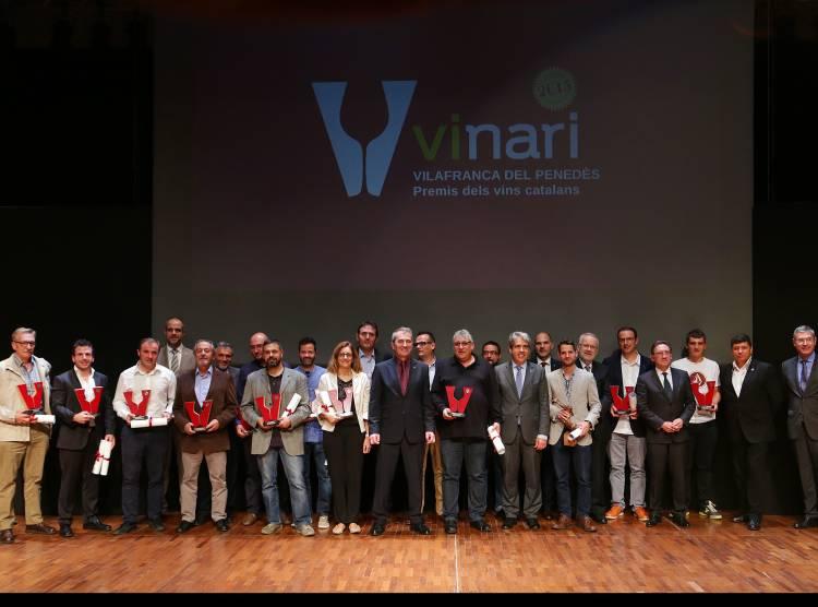 Los Premis Vinari 2015 eligieron a los mejores vinos catalanes 1