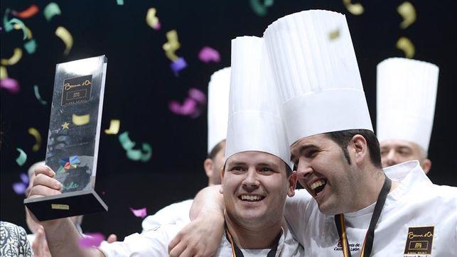 El cocinero extremeño Juan Manuel Salgado gana el Bocuse d'Or España 1