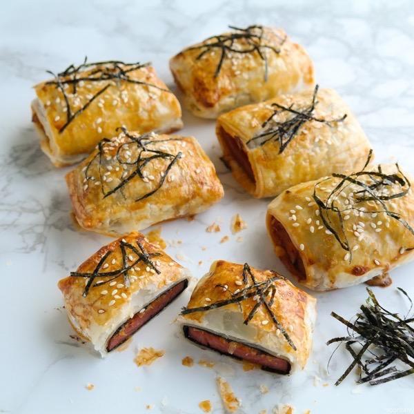 Kimchi Spam Musubi Croissant (vídeo receta) 2