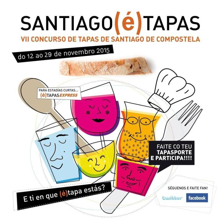 'Santiago é Tapas' 2015 1