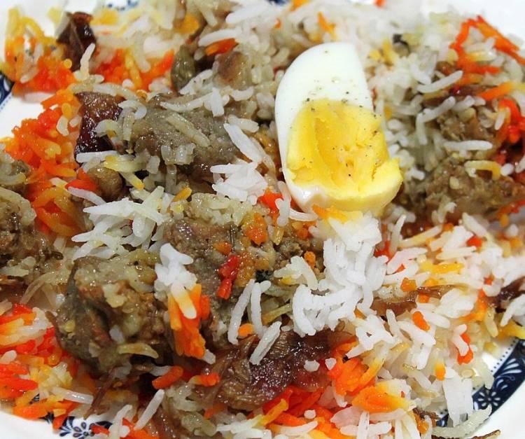 Biryani, receta de la cocina india 1