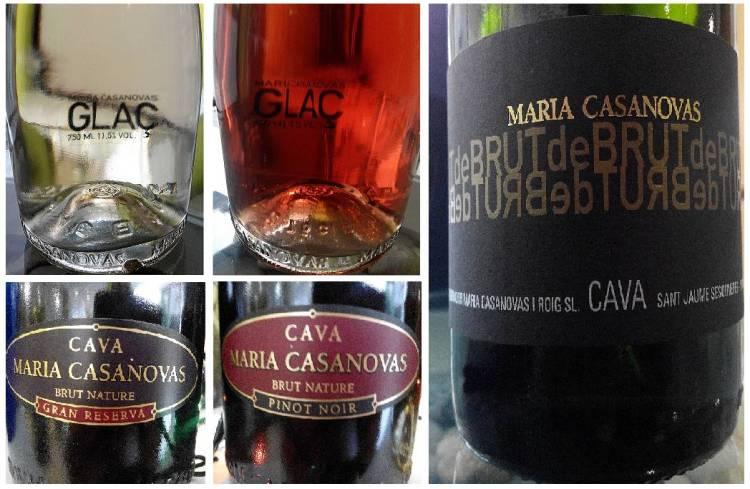 Cata de cavas de Maria Casanovas 6
