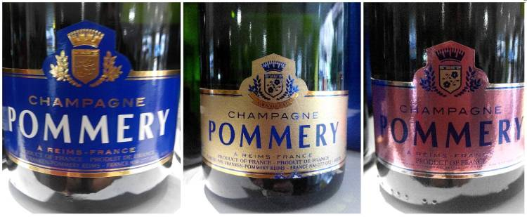 Catando champagnes de Champagne Pommery franceses 2